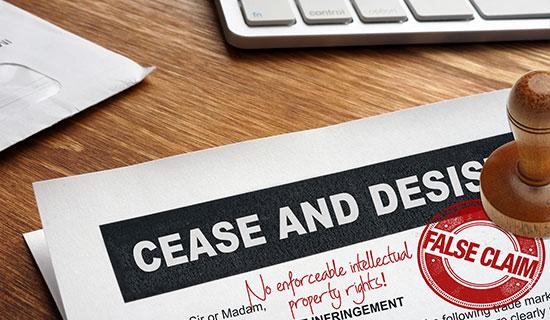 cease and desist main