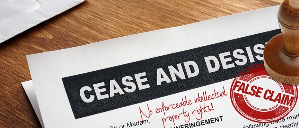 Have you received a cease and desist letter?