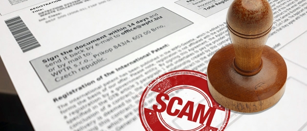 Rise in Patent and Trade Mark Scams